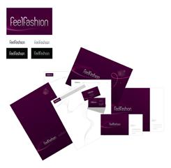 Фирменный стиль для Feelfasion